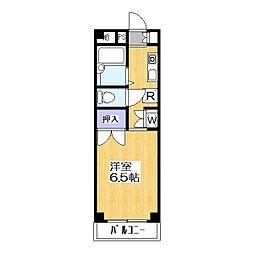 モデーロ花栗[3階]の間取り