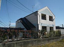 滋賀県近江八幡市若葉町の賃貸アパートの外観
