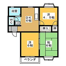 ASA・2 北[1階]の間取り