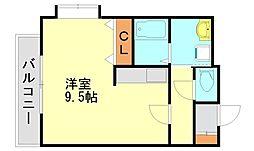 エスペランサM松島[2階]の間取り