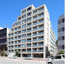 東京都港区南麻布3丁目の賃貸マンションの外観