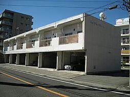 山梨県甲府市下飯田1丁目の賃貸アパートの外観