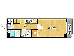 ファミールパピヨン[2階]の間取り