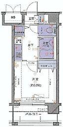 ラグジュアリーアパートメント三田慶大前[7階]の間取り