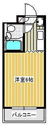 Dessert inn Tsujido[102号室]の間取り