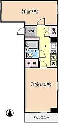 第3吉田ビル[507号室]の間取り