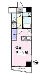 工芸館きうち2[3階]の間取り