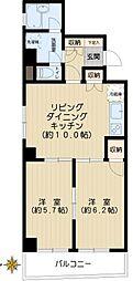 メゾンドビィフォーレ[5階]の間取り