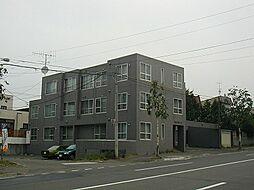 北海道札幌市南区澄川五条10丁目の賃貸マンションの外観