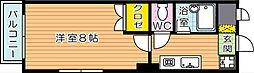 fairebller黒崎(フェールブリエ黒崎)[4階]の間取り