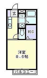ハイムアトリオ[102号室]の間取り
