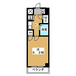リーガル京都御所西[8階]の間取り