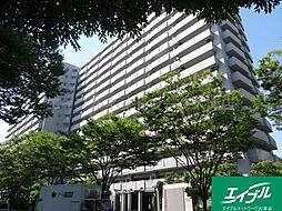 滋賀県大津市におの浜1丁目の賃貸マンションの外観