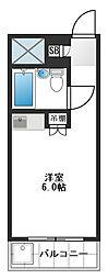 東京都練馬区桜台2丁目の賃貸マンションの間取り