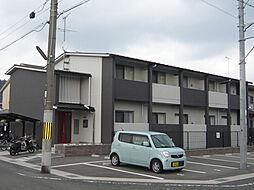 京都府京都市北区上賀茂石計町の賃貸アパートの外観