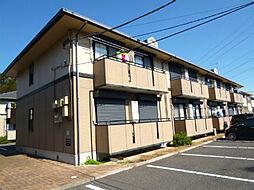 茨城県土浦市木田余東台4の賃貸アパートの外観