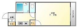 ベルサンライズ[1階]の間取り