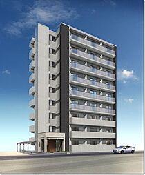 駅前町新築マンション[7階]の外観