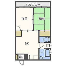 東野興産第一ビル[1階]の間取り