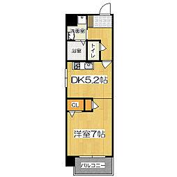 COSMO3[3階]の間取り