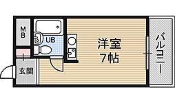レバンガ新大阪イースト[1階]の間取り