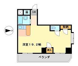 愛知県名古屋市西区城北町3丁目の賃貸マンションの間取り
