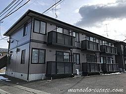 アビーロードA[1階]の外観