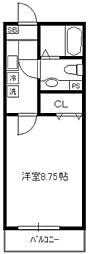 サァラ多摩平[1階]の間取り
