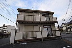 栃木県宇都宮市双葉3丁目の賃貸アパートの外観