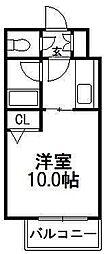 ビッグモウト円山[205号室]の間取り