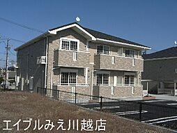 三重県桑名市陽だまりの丘8の賃貸アパートの外観