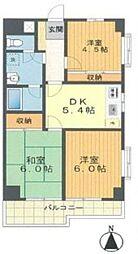 サンライズマンション青葉町パート2[2階]の間取り