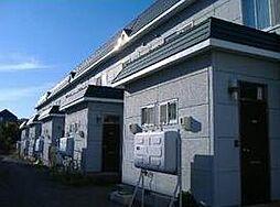 北海道札幌市南区藤野二条8丁目の賃貸アパートの外観
