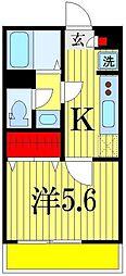 リブリ・検見川町[2階]の間取り