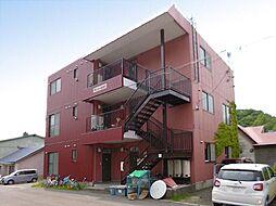 北海道小樽市豊川町の賃貸アパートの外観