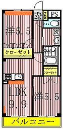 partida〜パルティーダ〜[1階]の間取り