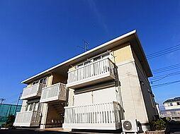 千葉県柏市小青田の賃貸アパートの外観