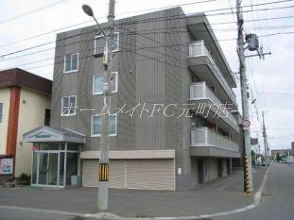 N34マンション[4階]