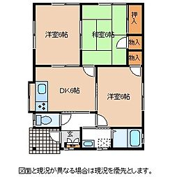 [一戸建] 長野県岡谷市若宮 の賃貸【/】の間取り