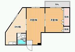 メリーゴーランド2[2階]の間取り