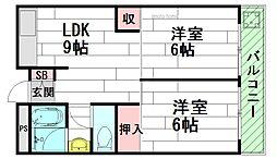 阪急吹田駅前奥野ビル[3階]の間取り
