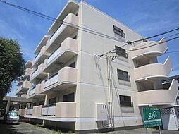 茨城県土浦市真鍋2丁目の賃貸マンションの外観