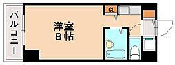 パンルネックス・クリスタル福大東[4階]の間取り