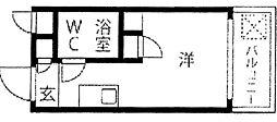 メゾンド・御影パート1[3階]の間取り