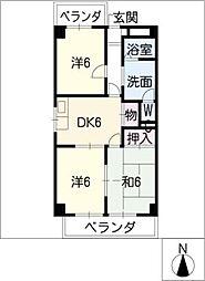 メゾン泰和[3階]の間取り