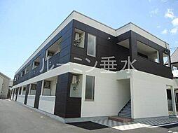 仮 北条町横尾新築アパートH30年3月[1階]の外観
