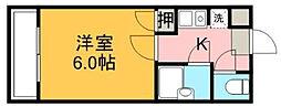 神奈川県海老名市柏ケ谷の賃貸マンションの間取り