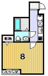 リエール円町[3階]の間取り