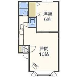 ピュア31[2階]の間取り