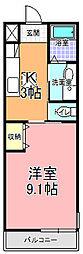 SAMURAI HITACHI[101号室]の間取り